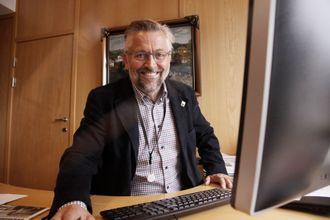 KAMP: Ordfører i Kongsvinger, Sjur Strand har for lengst kastet seg inn i lokaliseringsdebatten om fremtidens PHS.