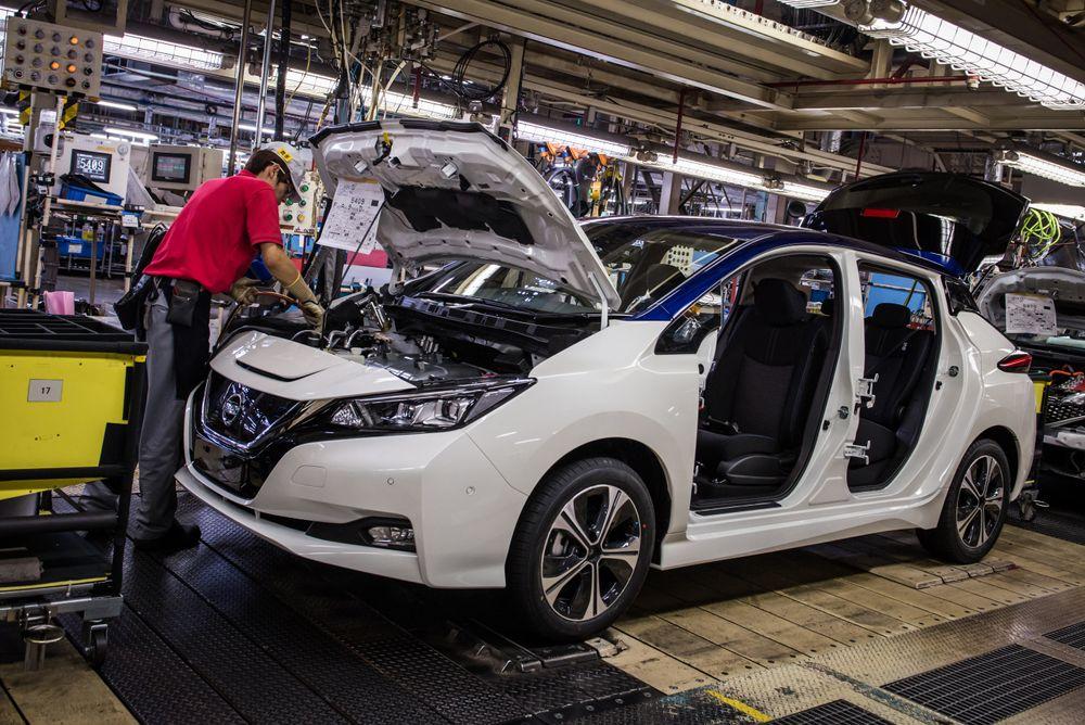 Nye Nissan Leaf er i full produksjon og skal leveres om allerede en måned i Japan.