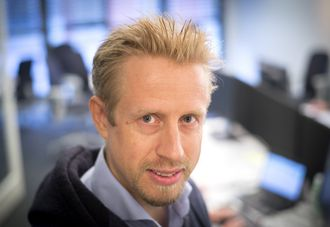 Redaktør Kristoffer Egeberg i Faktisk.no