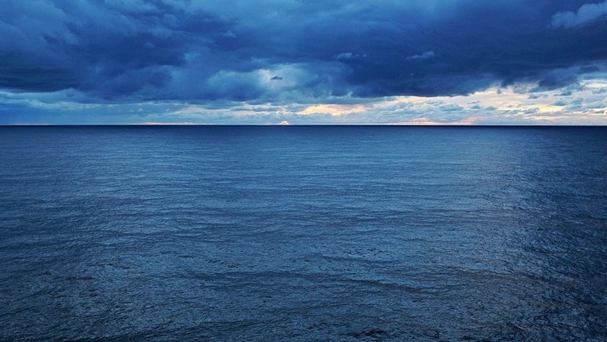 Himmel og hav - energi, mat, ressurser og transport. Mer enn et kinderegg.