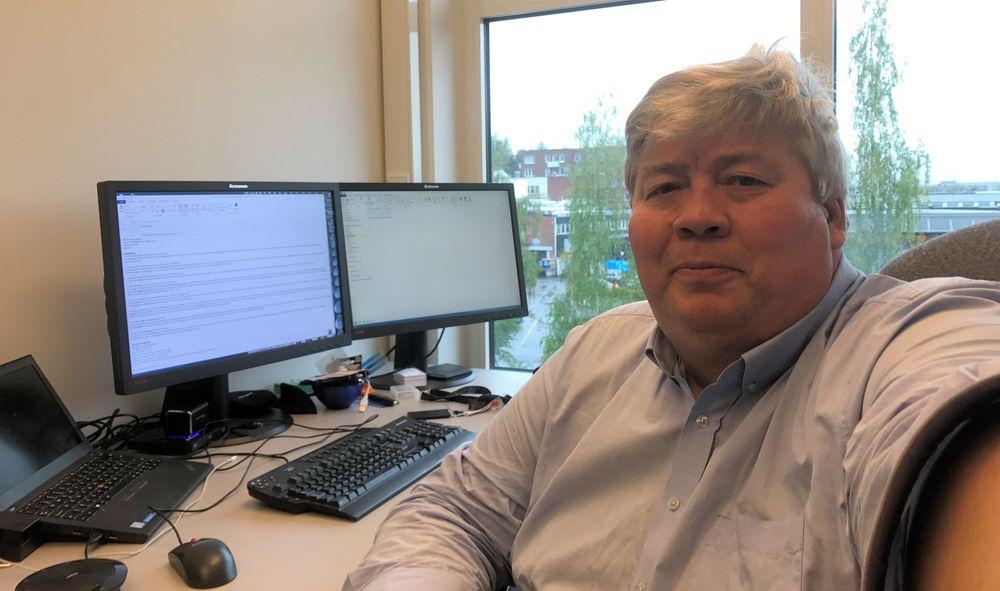 Teknologidirektør Håvard Devold i ABB Norge.