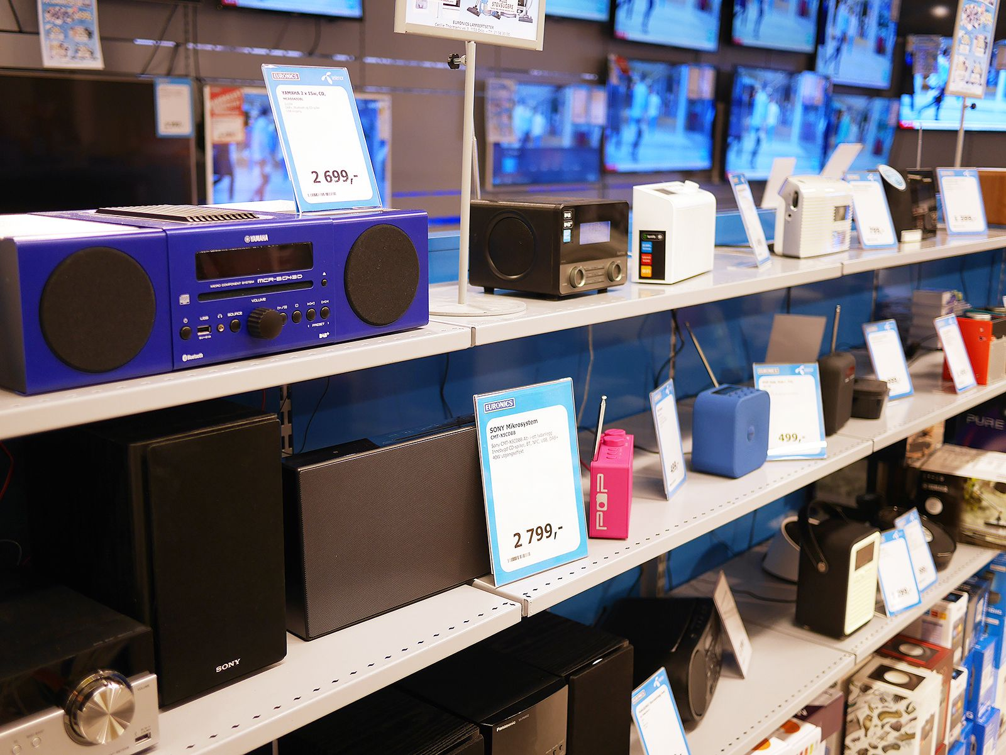 Dab-salget i første halvår 2017 har steget kraftig etter at FM slukkes for NRK og de kommersielle kanalene i flere områder. Foto: Stian Sønsteng