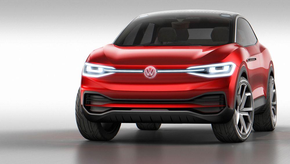 Den nye versjonen av elbil-SUV-konseptet I.D. Crozz.