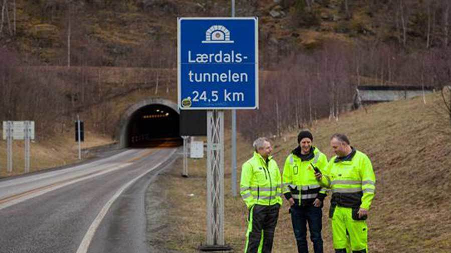 Over 300 tunneler får Nødnett