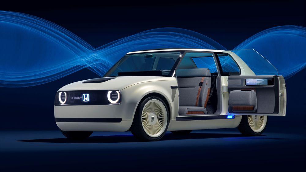 Honda Urban EV Concept ble vist fram i Frankfurt. En variant av denne kommer allerede i 2019.