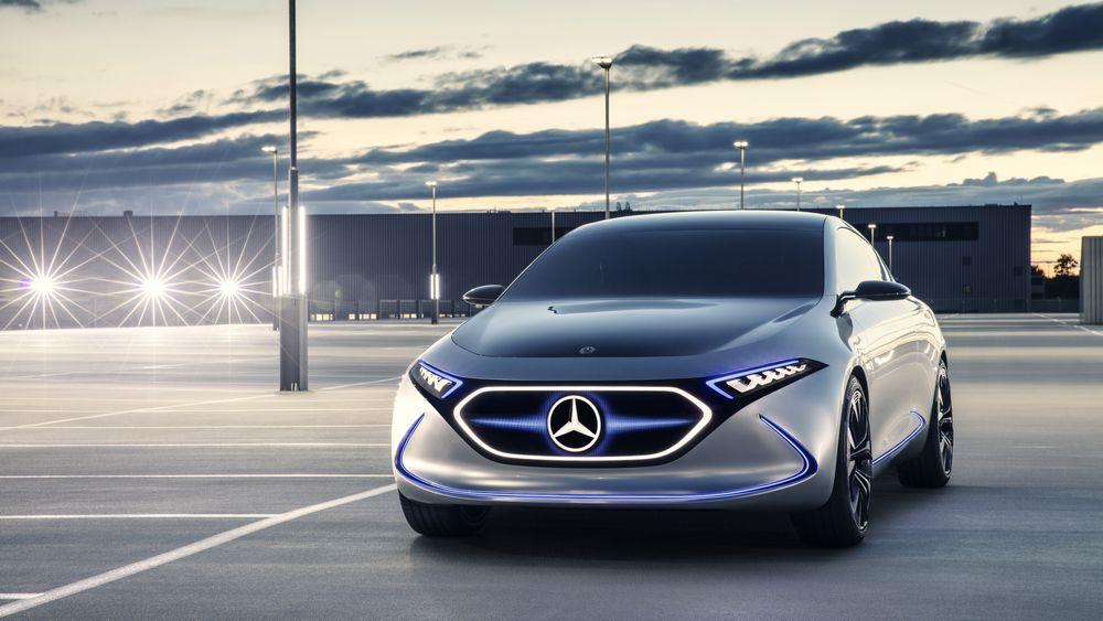 Den kommende elbiler Mercedes-Benz EQA.