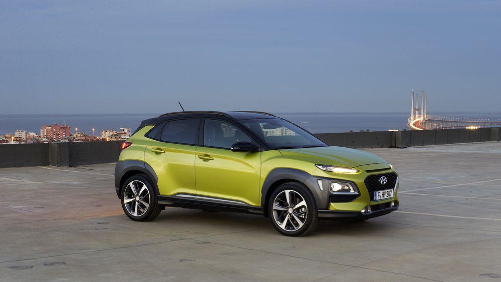 Hyundai Kona kommer først med bensin- og dieselmotor, og deretter som elbilutgave neste år.