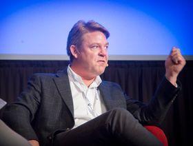 MTG- og P4-direktør Kenneth Andresen i debatt under radiotoppmøtet ved årets Radiodager..