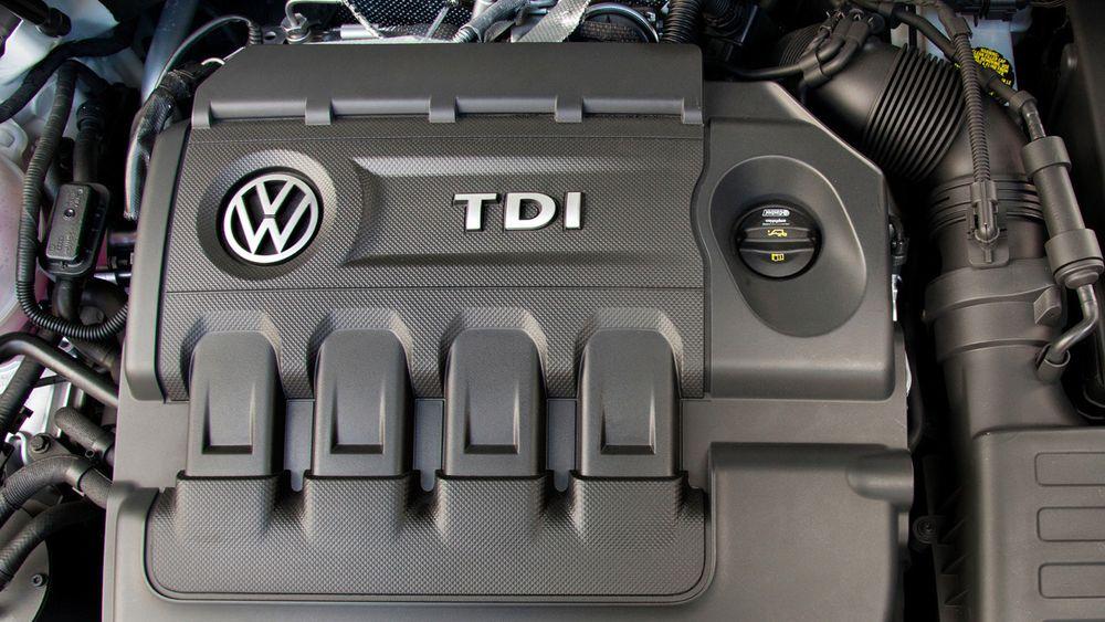 VW TDI motor