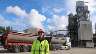 Vil bruke norskutviklet teknologi for å fjerne CO2. Feiring Bruk på Lørenskog ønsker å produsere Norges mest klimavennlige asfalt