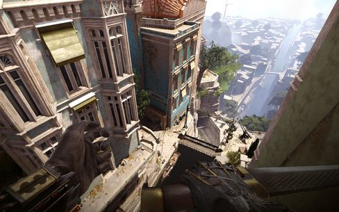 Vertikaliteten er et viktig aspekt av Dishonored: Death of the Outsider.