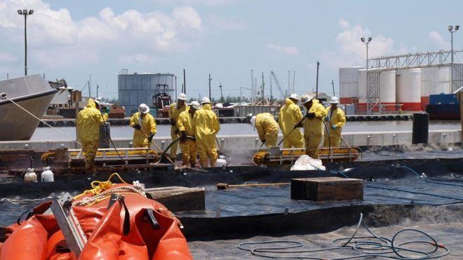 Arbeidere ble syke av Deepwater Horizon-opprydning