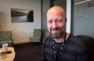 Etikkredaktør Per Arne Kalbakk i NRK. Her fra sine kontorer på Marienlyst i Oslo.
