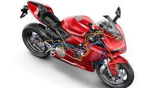 Teknologiske fremskritt gjør det litt mindre farlig å kjøre motorsykkel