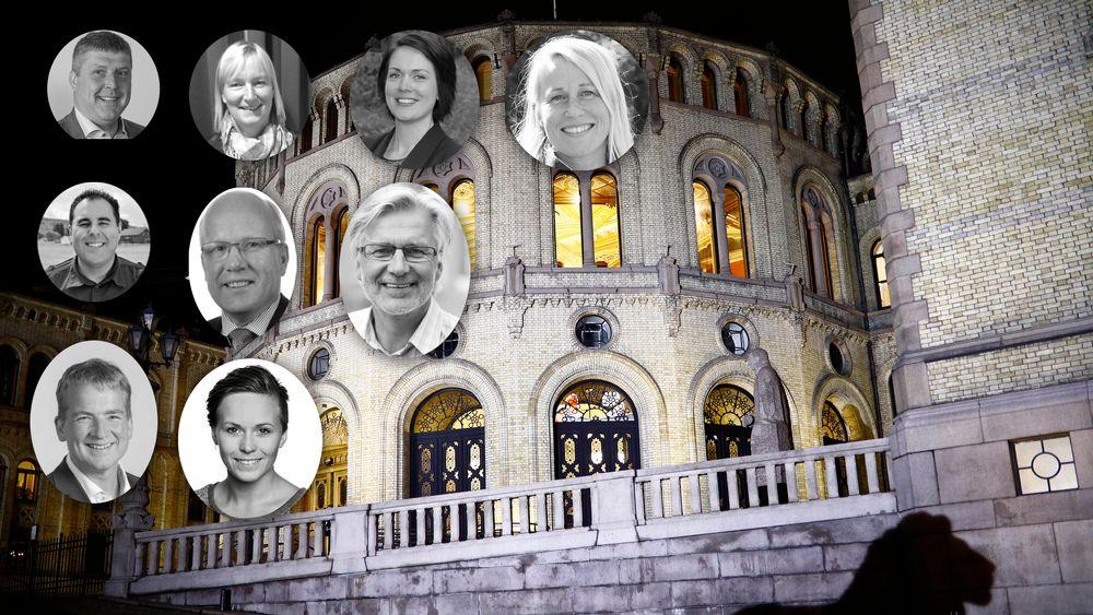 9 stortingrepresentanter som ble valgt i høst har bakgrunn som ingeniør eller høyere teknisk utdanning.