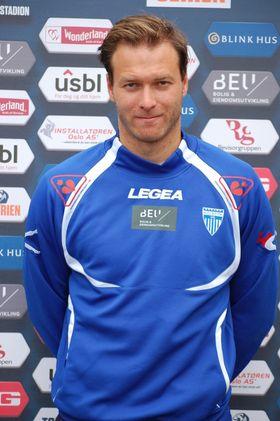 FORNØYD: Kolbotn-trener Knut Slatleim er glad for at jentene tok tre poeng i Harstad forrige helg!