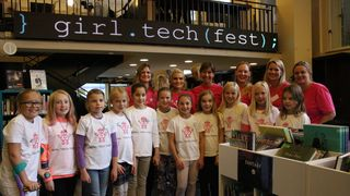 Girl Tech Fest: – Det er en kjempeutfordring med en for underbemannet IT-næring i dag