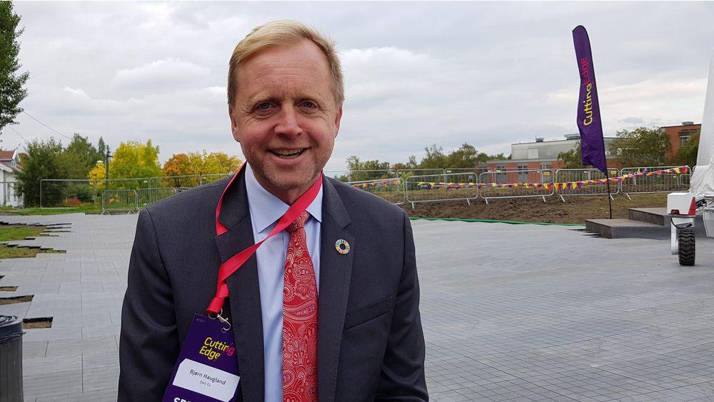 Betinget optimist: Bærekraftsjef i DNV GL, Bjørn Haugland ser mye farer og mange muligheter frem mot 2030.