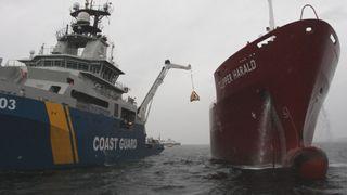 Europas største oljevernøvelse: Tester nytt system som tåler høye bølger og større fart