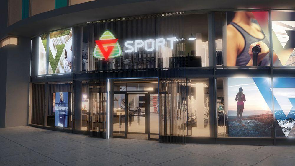 d189e83d 30 G-sport-butikker endrer navn til Intersport. Først ut er butikken på