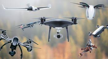 Droner Finn riktig drone for deg