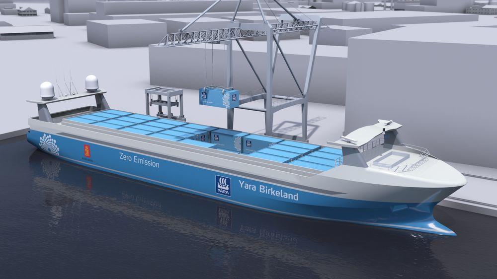 Kranene på Herøya skal være elektriske og autonome. Finske Kalmar skal levere  tre selvgående portalkraner og en gantrykran på skinner som står på kaia og laster/losser.