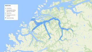 Storfjorden blir nytt testområde for autonome skip