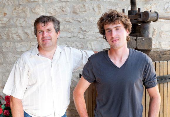 Far og sønn Pascal og Pierre Sorin står bak ukens vin.