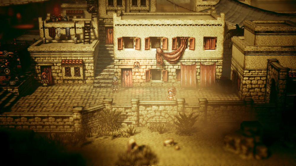 SNIKTITT: Project Octopath Traveler