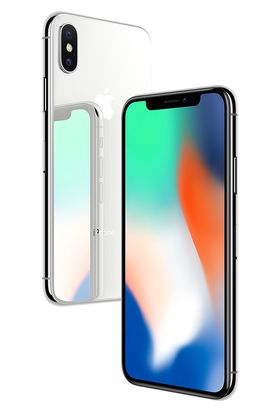 Apple iPhone X har en skjerm på 5,8 tommer i 19:9-format. Foto: Apple.