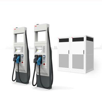 ABB er blant produsentene som har annonsert 350 kilowatt-ladere.