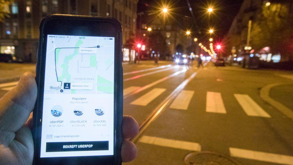 Carl Edvard Endresen, sjef for Uber i Norge, sier Uber Pop tar en pause i Norge.