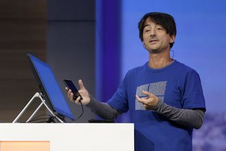 Joe Belfiore, Corporate Vice President of Operating Systems Group i Microsoft. (Arkivfoto)