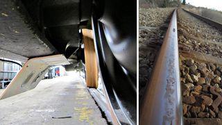 Ny metode: Har lyttet seg gjennom landets jernbaneskinner for å avsløre støy og slitasje