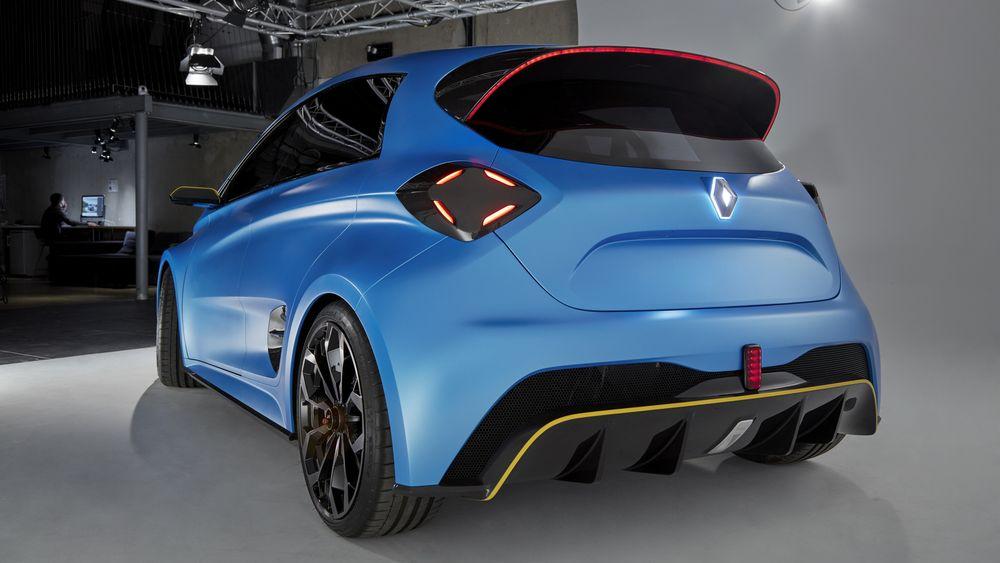 Konsept-elbilen Renault Zoe Esport.