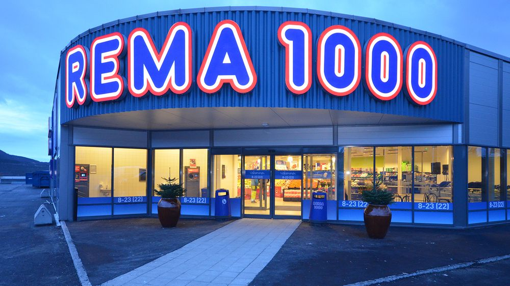rema 1000 levering