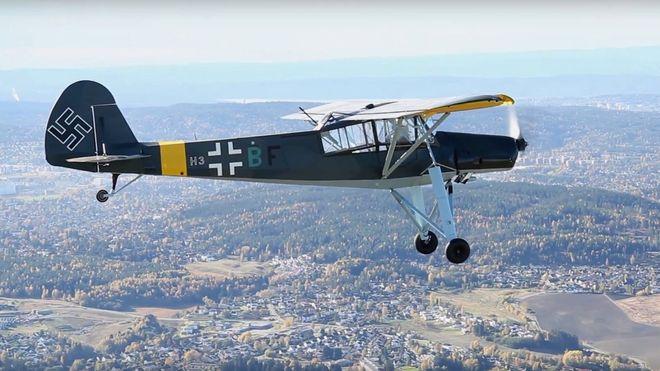 Denne tyske krigsstorken finnes det kun ti av i verden - to av dem flyr nå i Norge