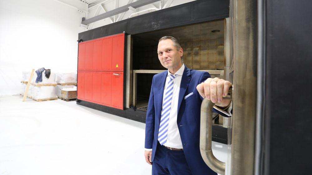 Roy Langseth er administrerende direktør i IMS Group. Han er svært fornøyd med at de fikk tilslaget på boet etter Ocean Saver-konkursen.