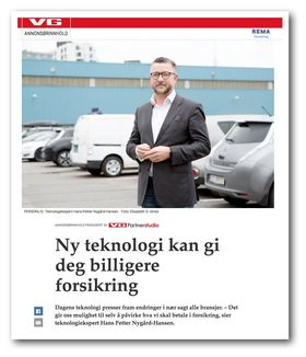Native-annonsen på VG.no for Rema...
