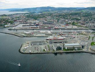 Trondheim havn.