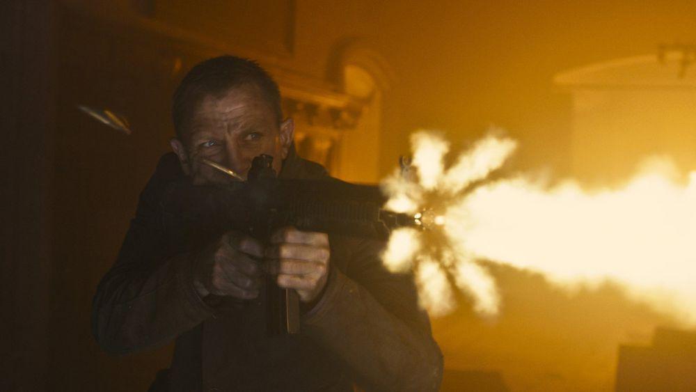 Daniel Craig i rollen som James Bond fra filmen Skyfall.