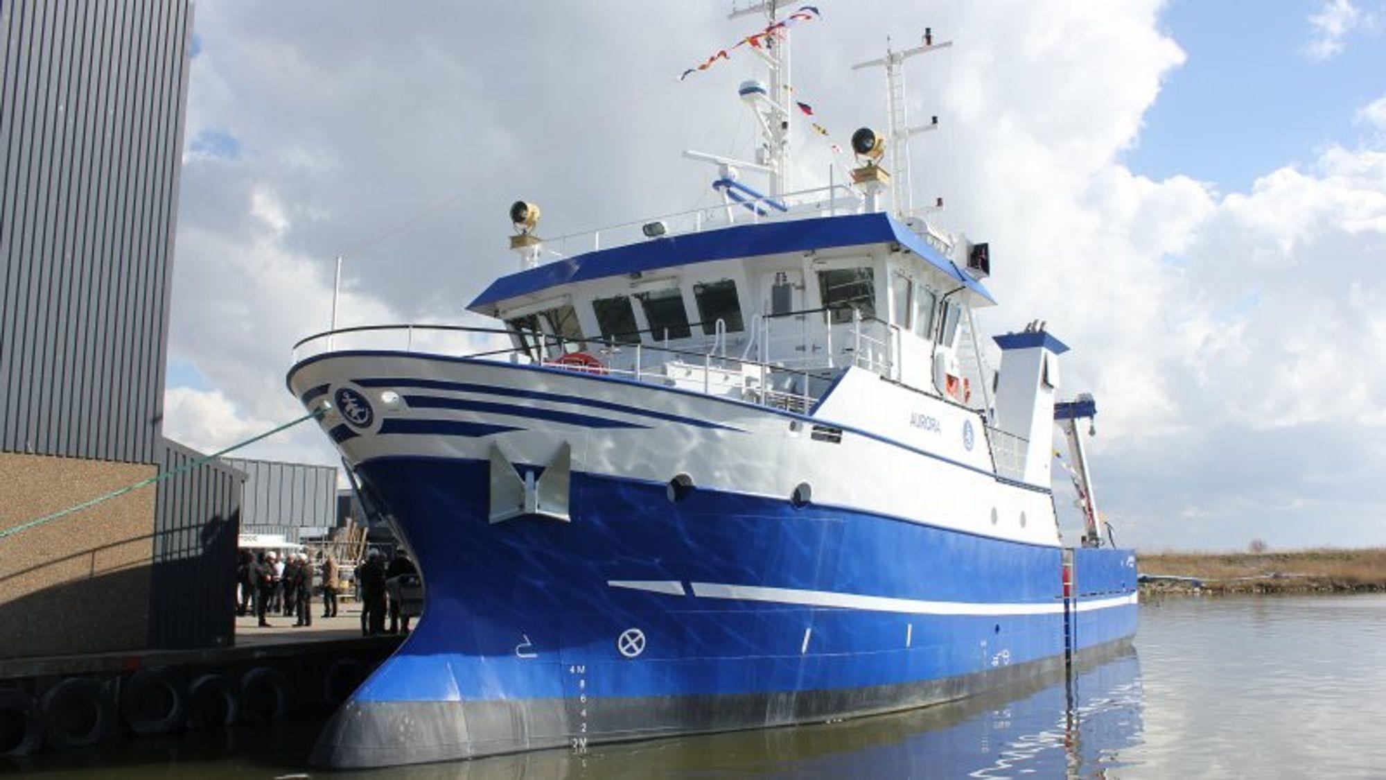 Aurora inneholder blant annet et Reson SEABAT 7125 høyoppløselig multistrålers ekkolodd som virker på dybder fra 0,5 til 500 meter.(Foto: Aarhus Universitet)