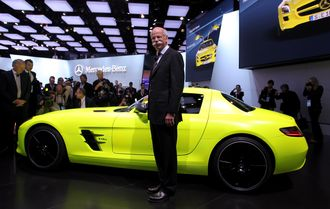 Mercedes-Benz-sjef, dr. Dieter Zetsche.