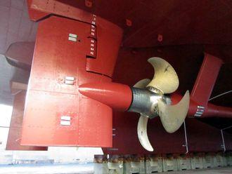 Promas: Ror og propell er koblet sammen og reduserer dermed energibruk for skip.  Rolls-Royce