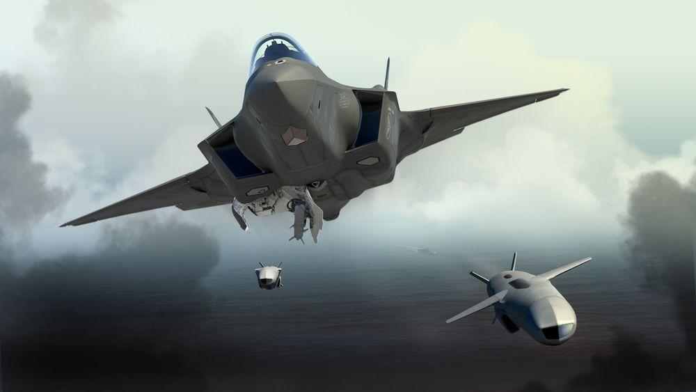 F-35 kan bære to JSM-missiler internt.