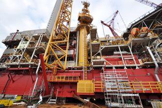 Yme-plattformen ble aldri klar til å produsere olje.