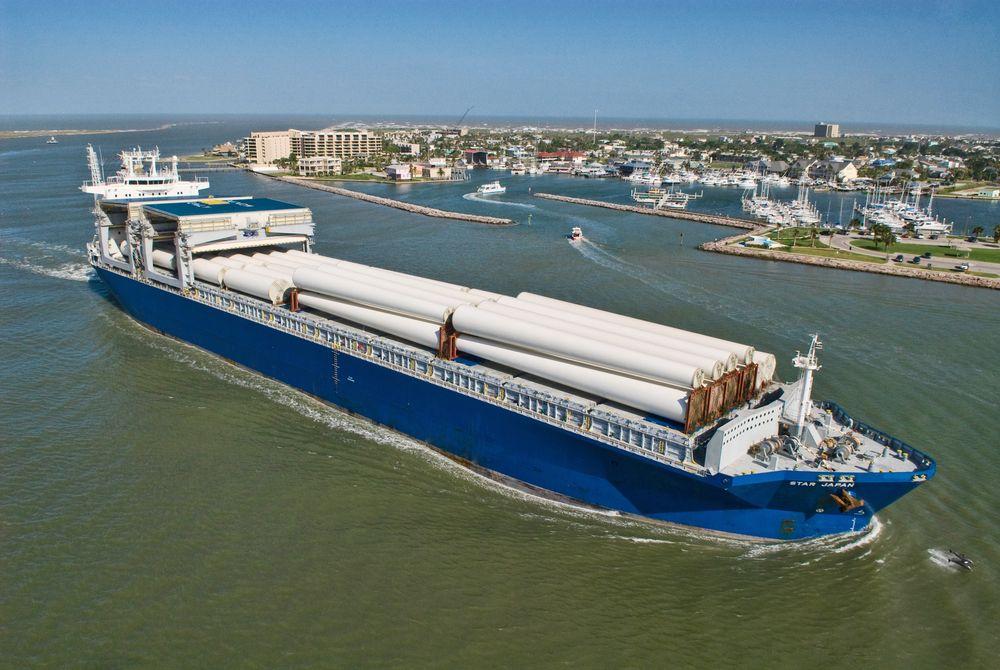Star Japan er ett av skipene i flåten til Grieg Star. Rederiforbundet får støtte fra medlememne til en tøff klimastrategi.