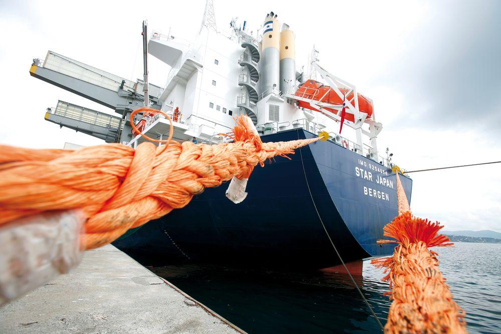Grieg Star har en flåte på 33 skip og har ambisjoner om å nå IMOs nye CO2-mål om 50 % kutt innen 2050.