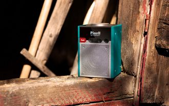 Dette er radioen med det brannfarlige batteriet.
