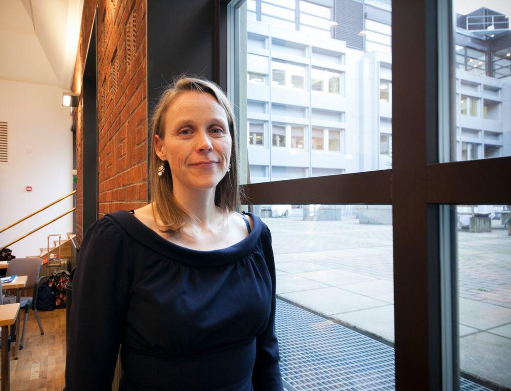 – Vi vet at det er de store bedriftene som er best på opplæring internt. Det er ikke alle bedrifter som kan bygge opp Equinor University, for eksempel, sier president Lise Randeberg i Tekna.